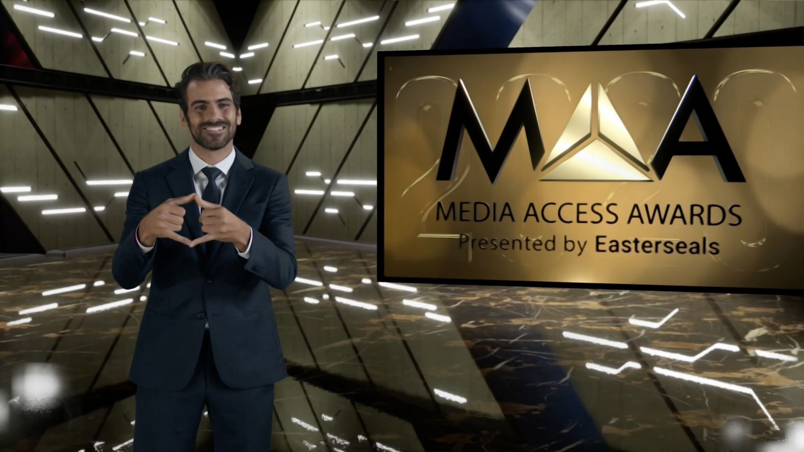 Nyle Dimarco 2020 Media Access Awards host