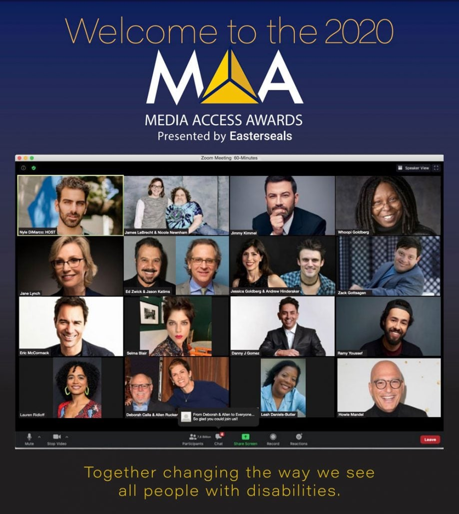 2020 Media Access Awards Program Book Image